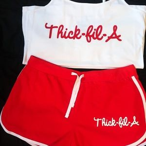Other - Thick-fil-a outfit